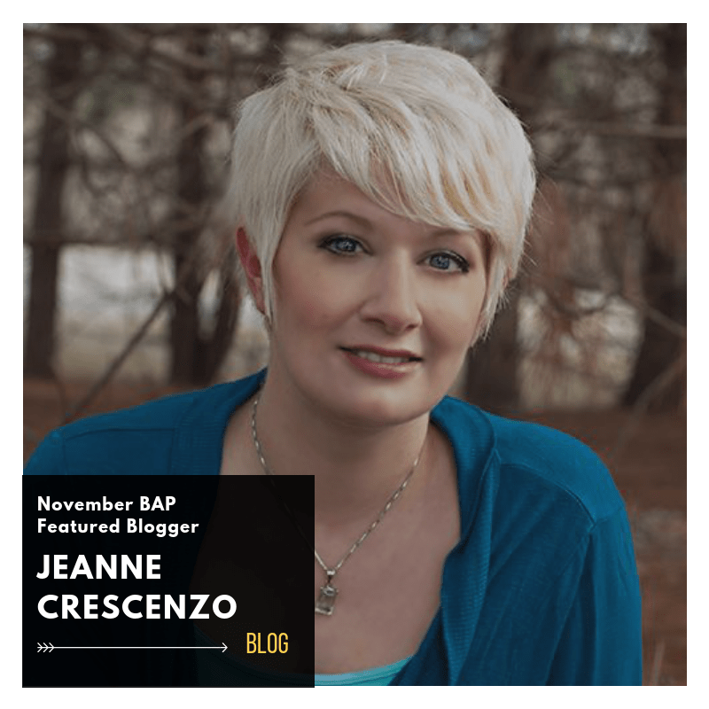 Jeanne Crescenzo BAP November Blogger 2018