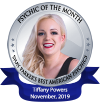 Tiffany Powers Psychic of the Month November 2019